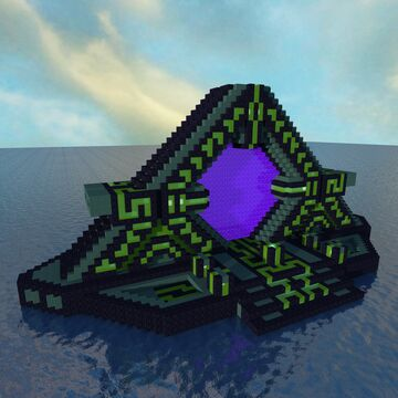 Subnautica Nether Portal +tutorial Minecraft Map & Project