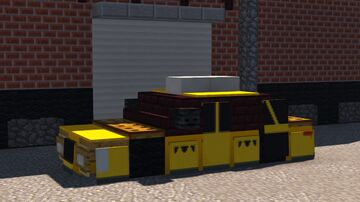 New York City Taxi Cab Minecraft Map & Project