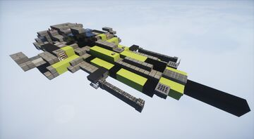 Black viper III - Space fighter | MFC | Minecraft Map & Project