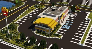 McDonalds Minecraft Map & Project