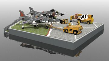 [Child Cancer Awareness][Read Description] Harrier Diorama Minecraft Map & Project