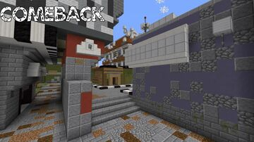 """Minecraft: """"Comeback"""" Call of Duty: Advanced Warfare Multiplayer Map Remake Minecraft Map & Project"""