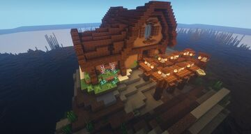 Island Beach House (with Download) Minecraft Map & Project