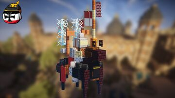 Polish Winged Hussar (2:1 scale) Minecraft Map & Project