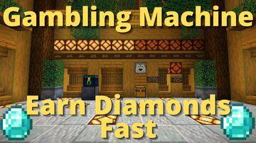 Gambling Machine Minecraft Map & Project
