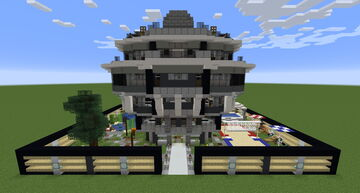 2x3 House Minecraft Map & Project