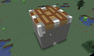 Giant blocks of MINECRAFT Minecraft Map & Project