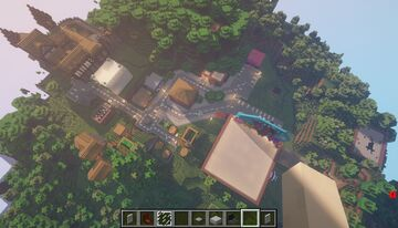 FNAF TOWN     it's my dream Minecraft Map & Project