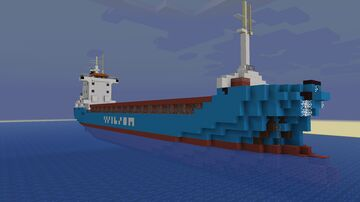 Wilson Cork (Exterior only) Minecraft Map & Project