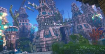 """Ocean Fantasy"" Minecraft Map & Project"