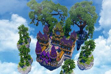 🏰[200x200] LOBBY MEDIEVAL ISLAND ► PHOENIXBUILDS🏰 Minecraft Map & Project