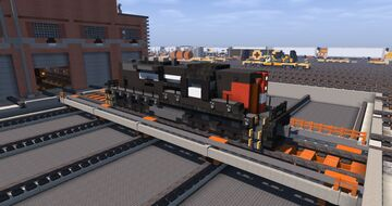 Southern Pacific EMD SD7 | TRS Minecraft Map & Project