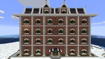 Christmas Advent Calendar with optional music-box. (100% Vanilla, fully-automated, survival-friendly,  no datapack or resource pack.) Minecraft Map & Project