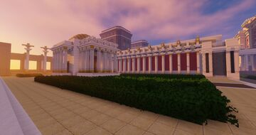 A shrine Minecraft Map & Project