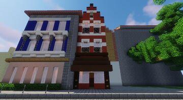 Singular Germanic Townhouse Minecraft Map & Project