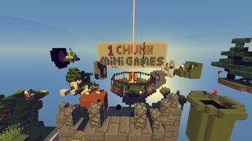 1 Chunk MiniGames Minecraft Map & Project