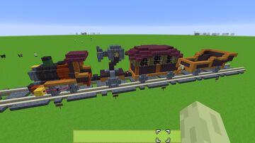 Zelda Spirit Tracks: Building the Trains Minecraft Map & Project