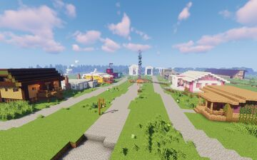 Camp Half Blood (1.14.4) Minecraft Map & Project