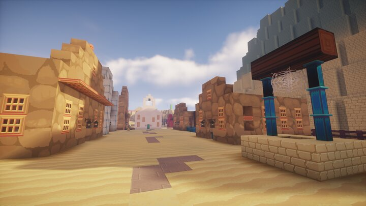 A wild west themed town.