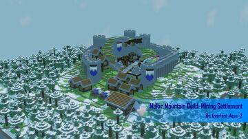 Melar Mountain Guild: Mining Settlement Minecraft Map & Project