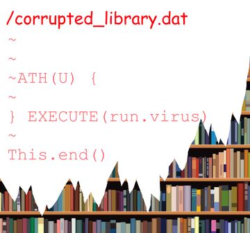 corrupted_library.dat Minecraft Map & Project