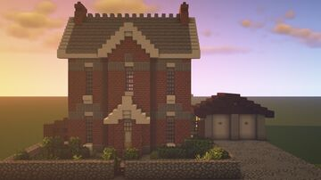 British Countryside House 2 Minecraft Map & Project