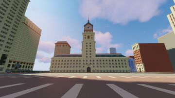 Oakwood City Government Buildings Minecraft Map & Project