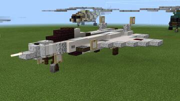 1:1 scale Sukhoi Su-67 air superiority fighter (fictional) Minecraft Map & Project