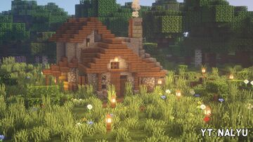 Castle House (1.14.4) - [YouTube] Nalyu Minecraft Map & Project
