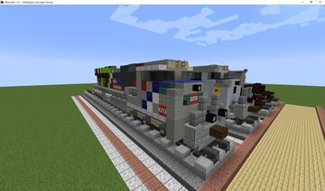 Union Pacific 1943 Minecraft Map & Project