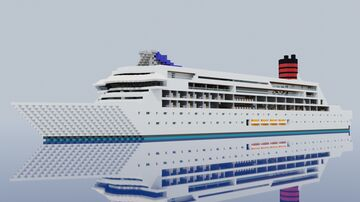 RMS Tornado of the Seas Minecraft Map & Project