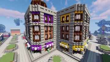 Glorietta Building Minecraft Map & Project