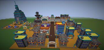 Pokémon Goldenrod City Heargold Soulsilver Minecraft Map & Project