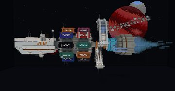 Stellar Cargo Carrier Minecraft Map & Project