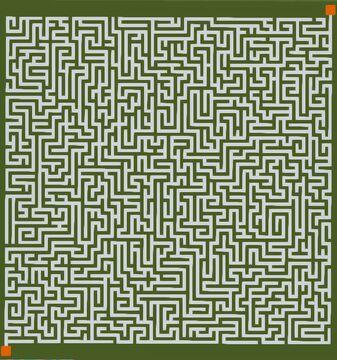Maze   100x100   Fun   Medium [SCHEMATIC] Minecraft Map & Project