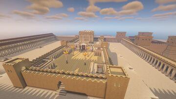 Jerusalem and Herod's temple Minecraft Map & Project