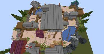 Sawmill KitPvP 1.16.5 Minecraft Map & Project