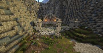 Dead Men's Respite, nordic barrow, full interior (Skyrim TES) Minecraft Map & Project