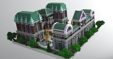 Baroque Spawn Minecraft Map & Project