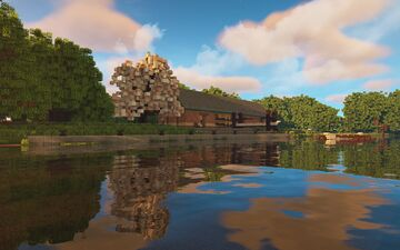 King's College Boathouse, Linford-upon-Avon Minecraft Map & Project