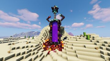 NETHER SWORD Minecraft Map & Project