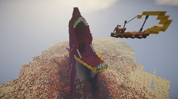 The Sand Shark Minecraft Map & Project