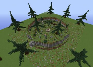 Darkness Arena + Download Minecraft Map & Project