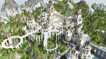 fantasy castle 21_01 Minecraft Map & Project