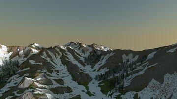 Snowy Minecraft Mountain Minecraft Map & Project