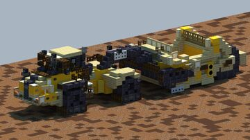 Bell 4206D, Scraper Tractor [With Download] Minecraft Map & Project