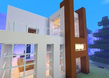 Minecraft house: Modern day || Minecraft Map & Project