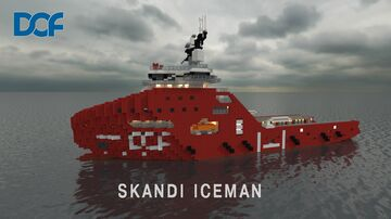 Skandi Iceman [Scale 1:1] Minecraft Map & Project