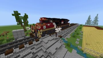 CN GE ET44AC #3150 Minecraft Map & Project