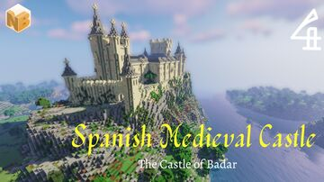 The Spanish Castle of Badar - Part 4 | Medieval World Project [Download] Minecraft Map & Project